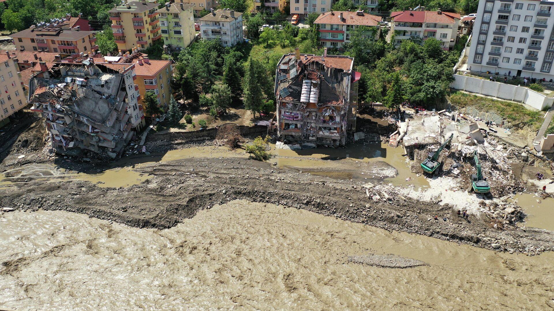 Inundaciones en Turquía - Sputnik Mundo, 1920, 15.08.2021