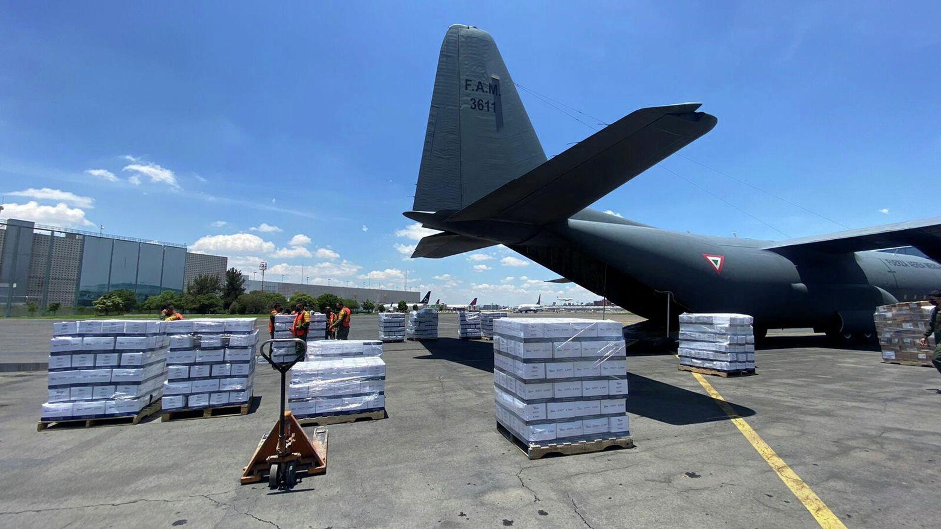 Ayuda humanitaria de México para Haití - Sputnik Mundo, 1920, 31.08.2021