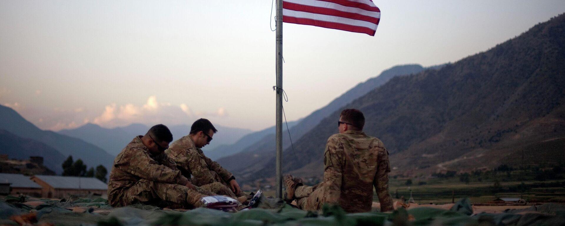 Militares de EEUU en Afganistán - Sputnik Mundo, 1920, 21.08.2021