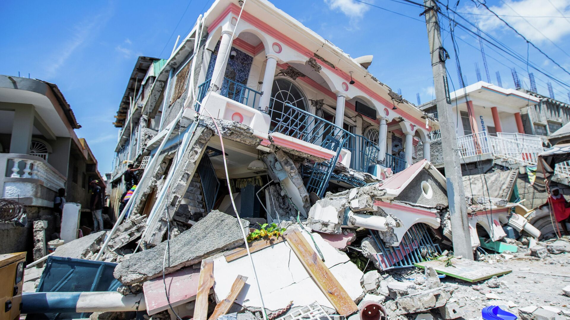 Terremoto en Haití - Sputnik Mundo, 1920, 16.08.2021