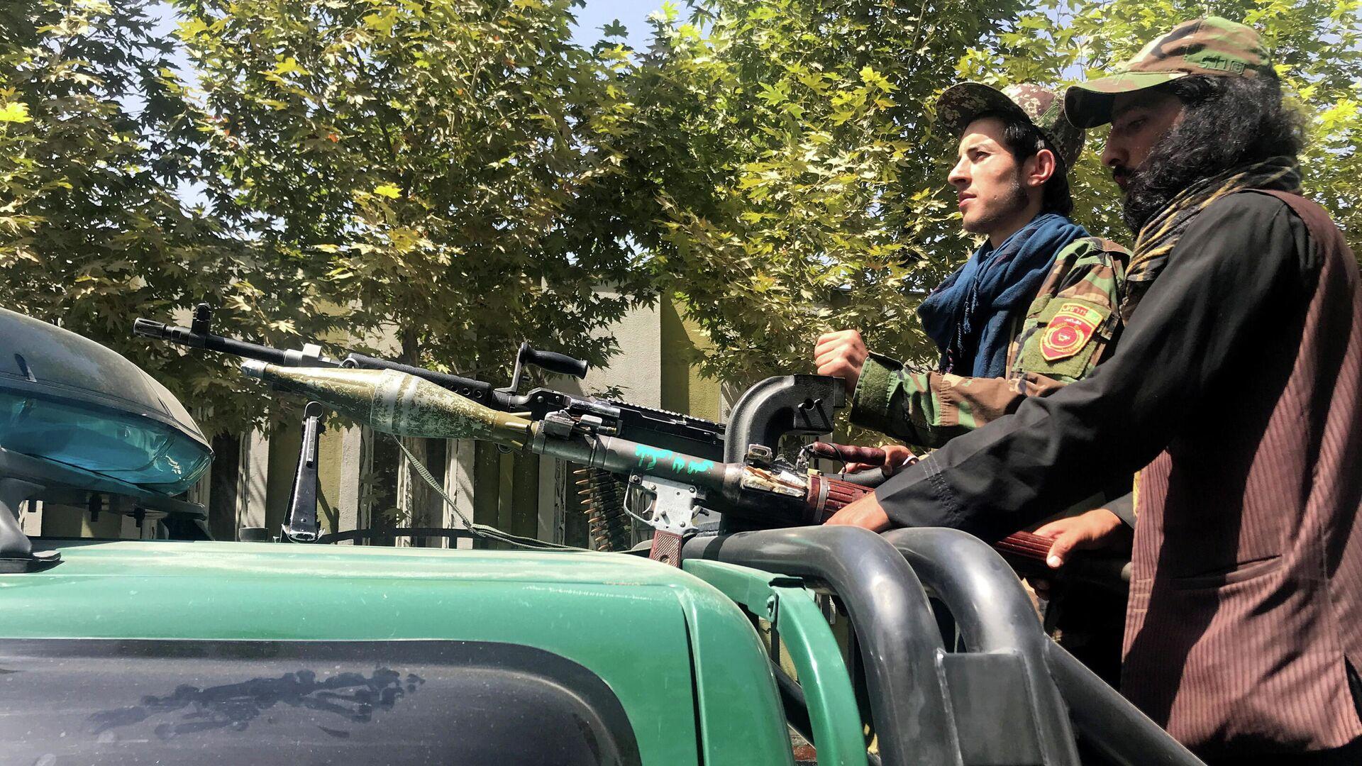 Talibanes en Kabul - Sputnik Mundo, 1920, 06.09.2021