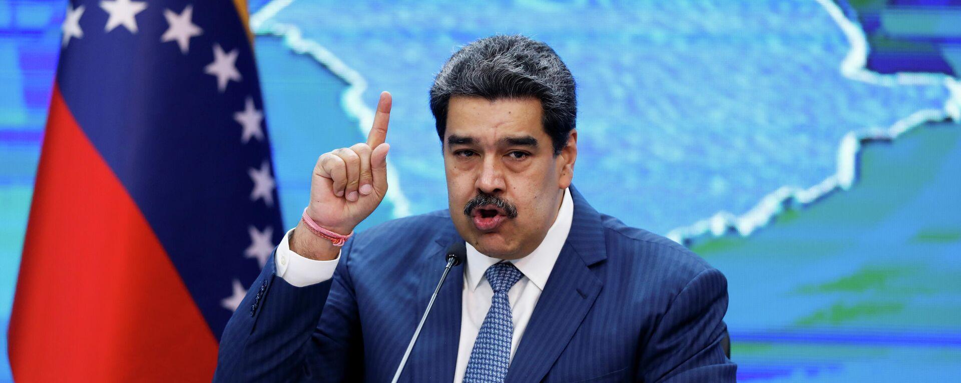 El presidente venezolano, Nicolás Maduro - Sputnik Mundo, 1920, 16.08.2021