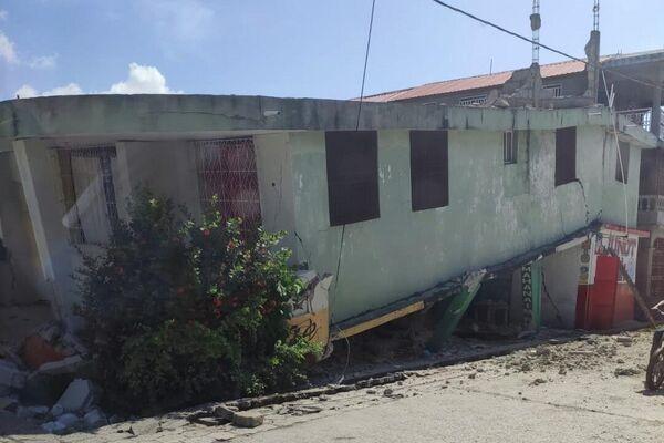 Consecuencias del sismo en Haití - Sputnik Mundo
