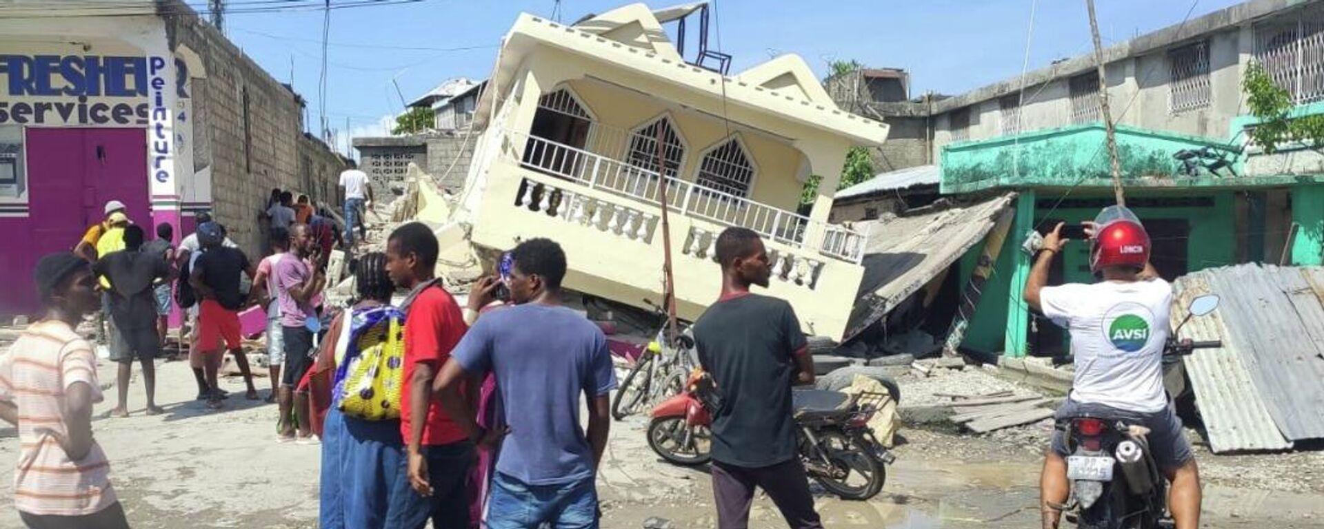 Consecuencias del sismo en Haití - Sputnik Mundo, 1920, 17.08.2021