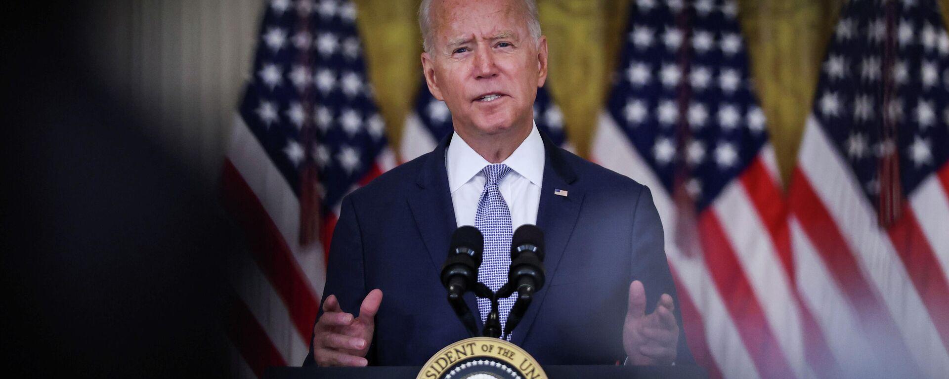 El presidente de EEUU, Joe Biden - Sputnik Mundo, 1920, 17.08.2021