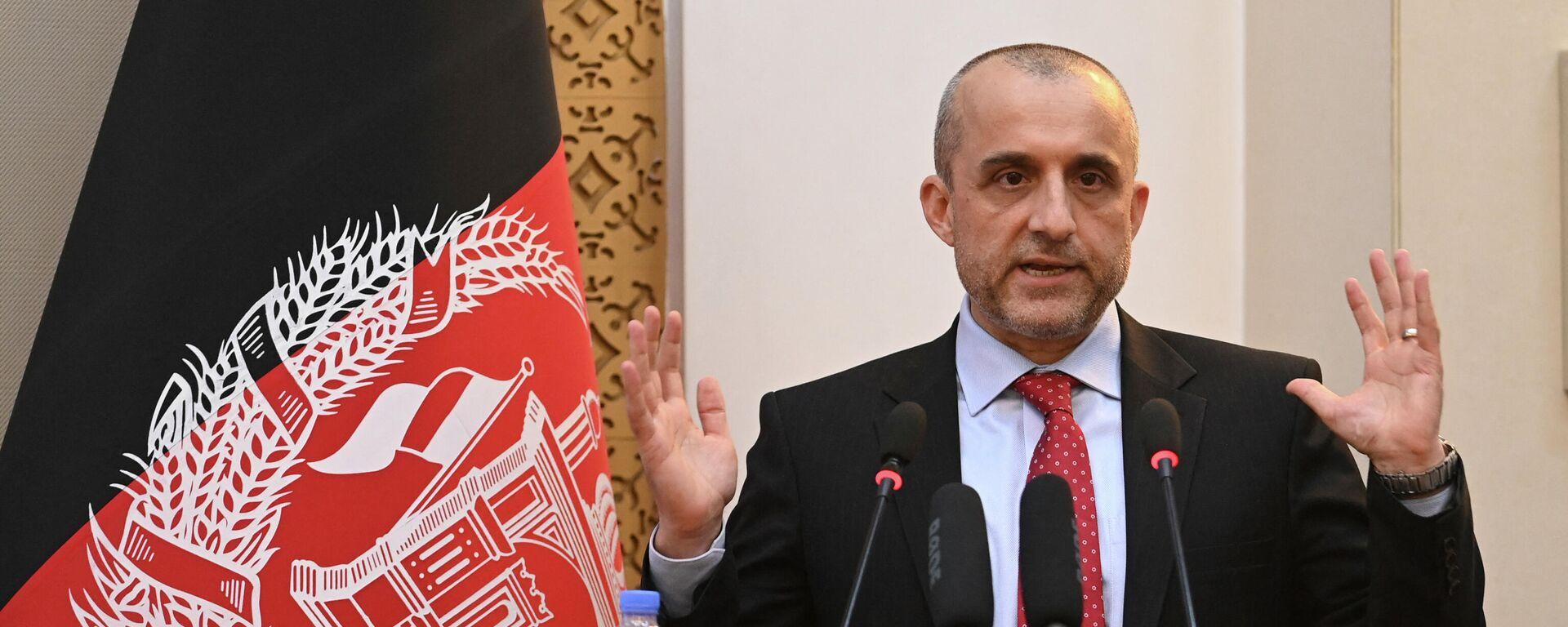 El vicepresidente afgano, Amrullah Saleh - Sputnik Mundo, 1920, 17.08.2021