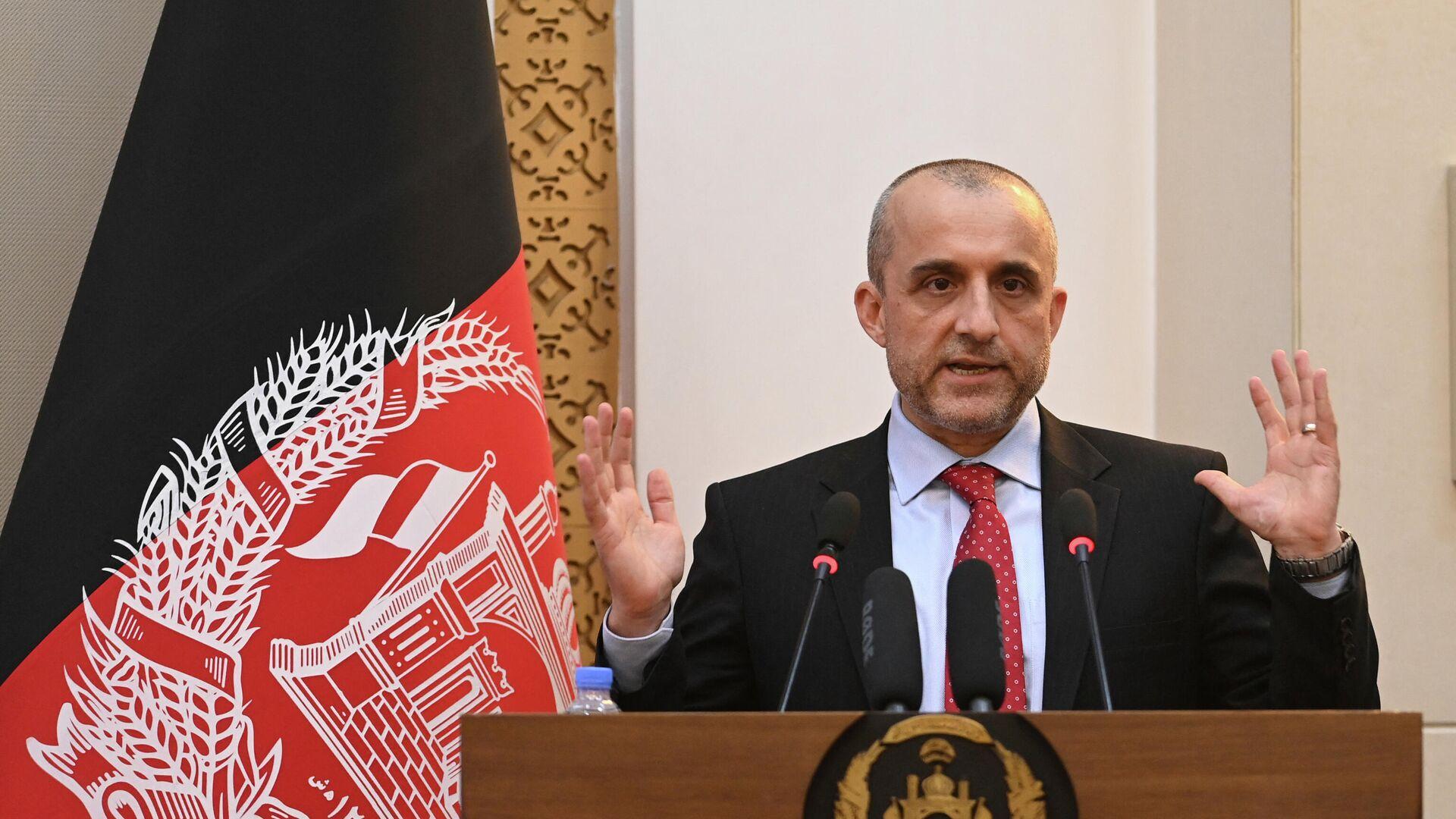 El vicepresidente afgano, Amrullah Saleh - Sputnik Mundo, 1920, 10.09.2021