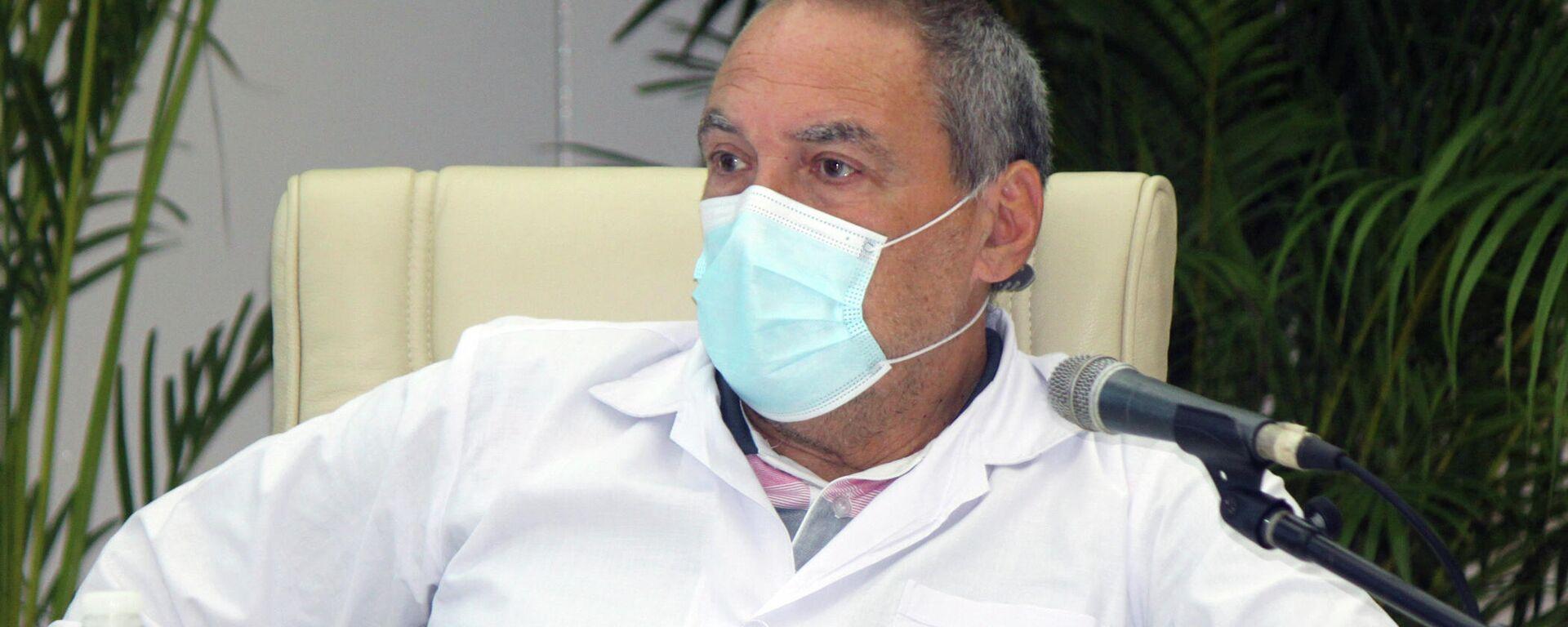Doctor Vicente Vérez Bencomo, director general del Instituto Finlay de Vacunas de La Habana - Sputnik Mundo, 1920, 16.08.2021