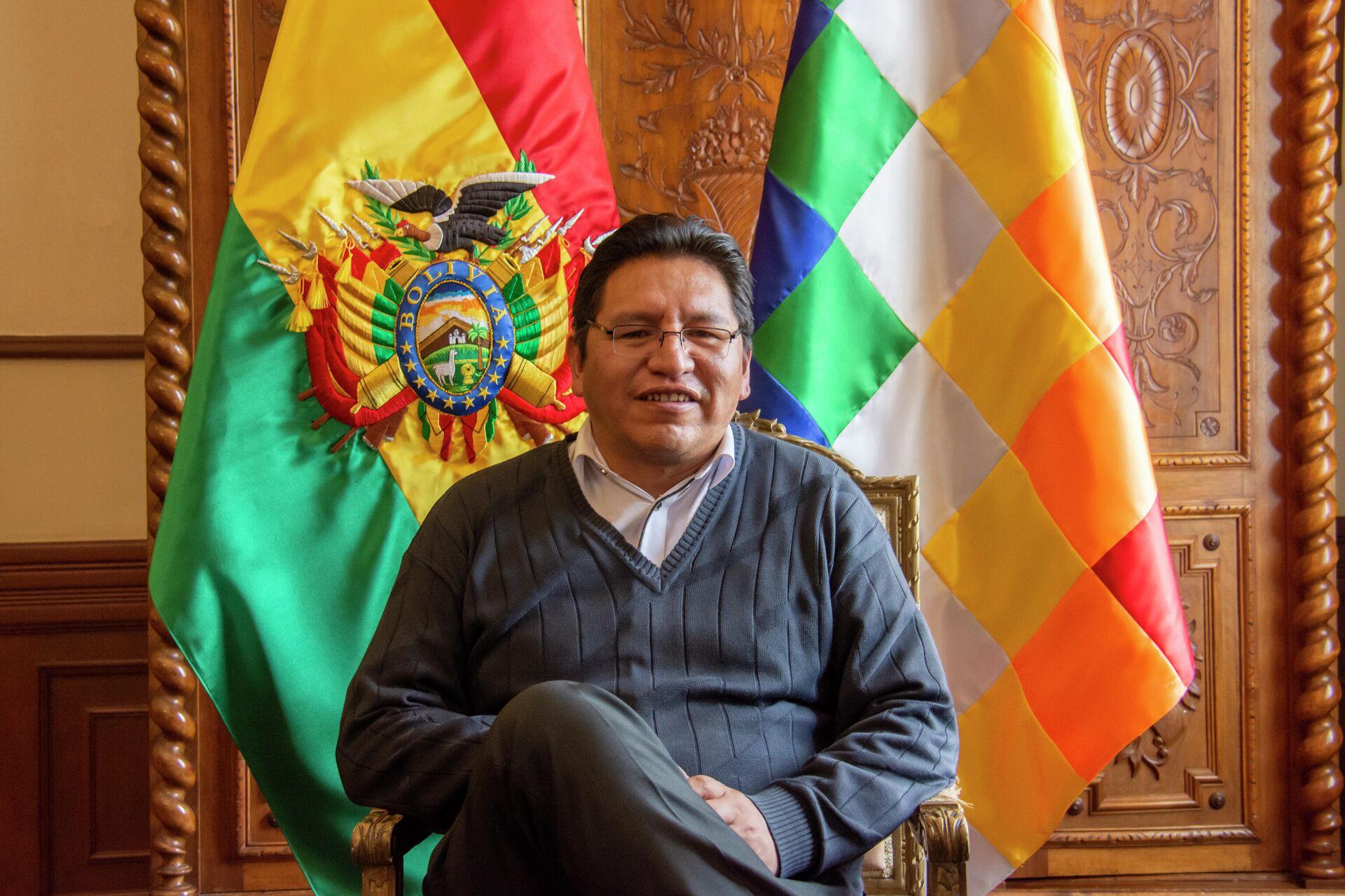 Vicecanciller de Bolivia, Freddy Mamani - Sputnik Mundo, 1920, 17.08.2021