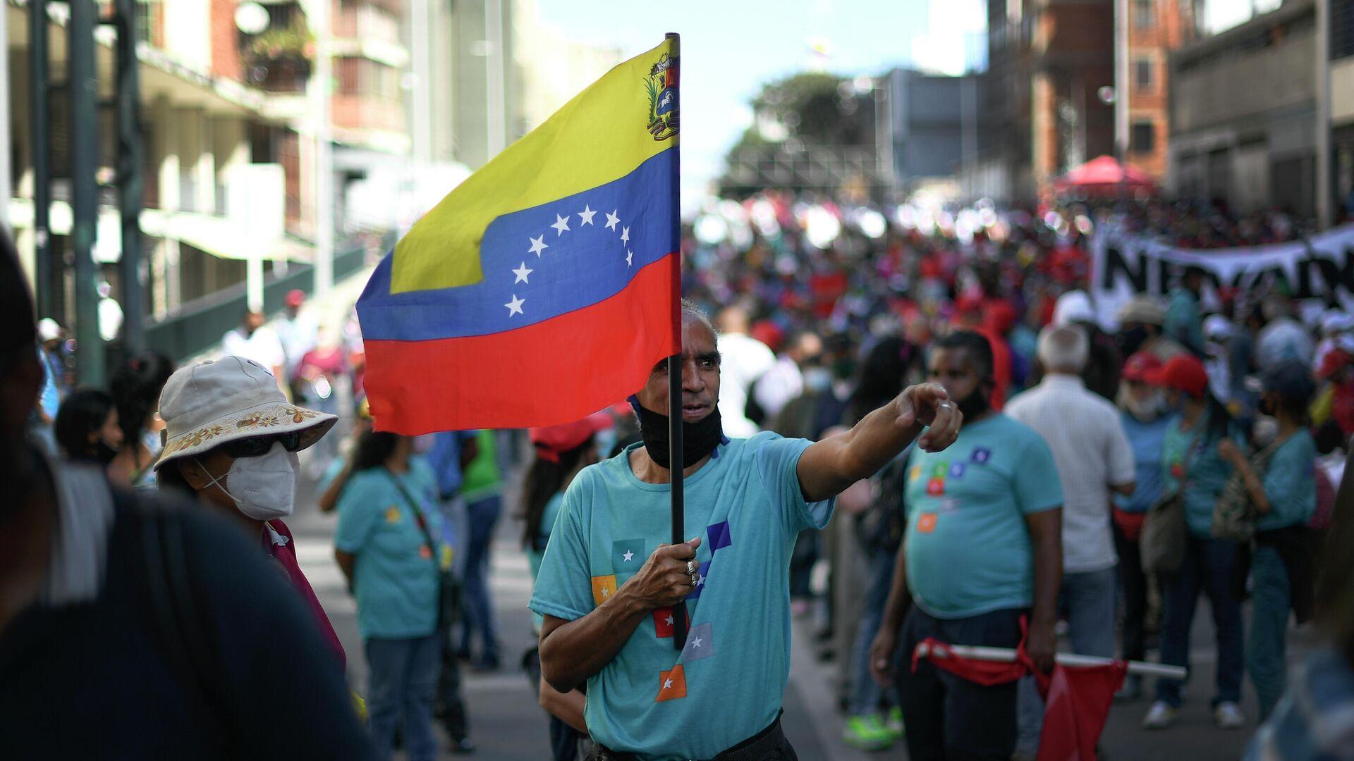 Bandera de Venezuela - Sputnik Mundo, 1920, 18.08.2021