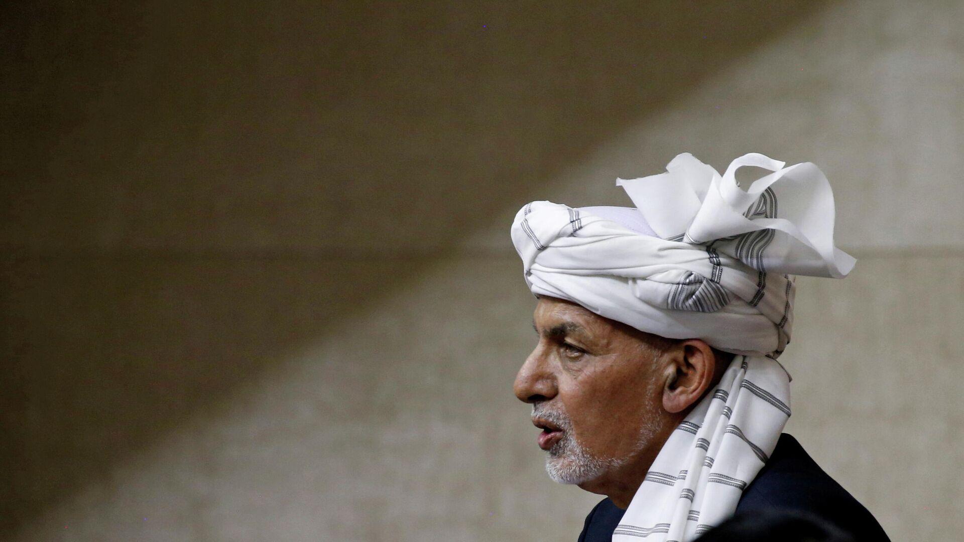 Ashraf Ghani, expresidente afgano - Sputnik Mundo, 1920, 08.09.2021
