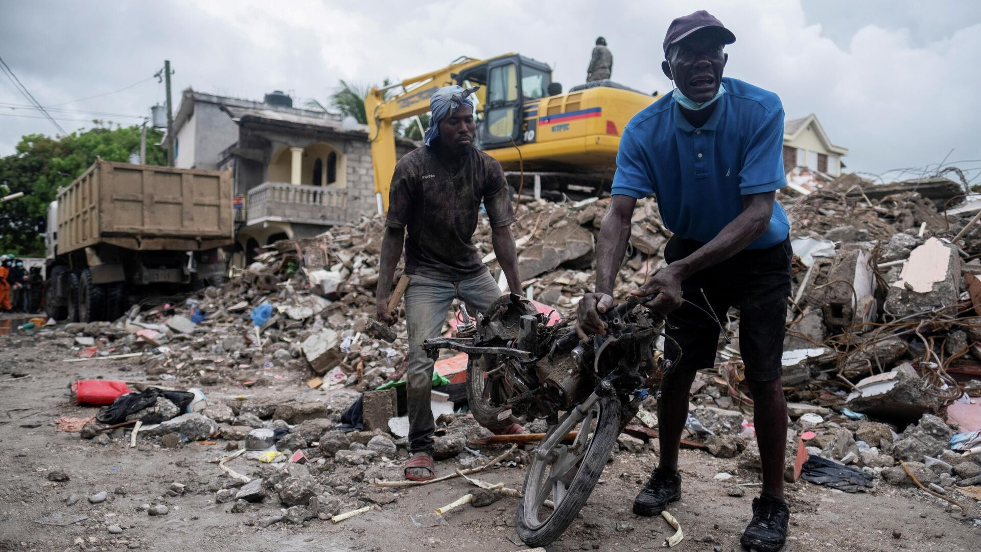 Las consecuencias del terremoto en Haití - Sputnik Mundo, 1920, 27.08.2021