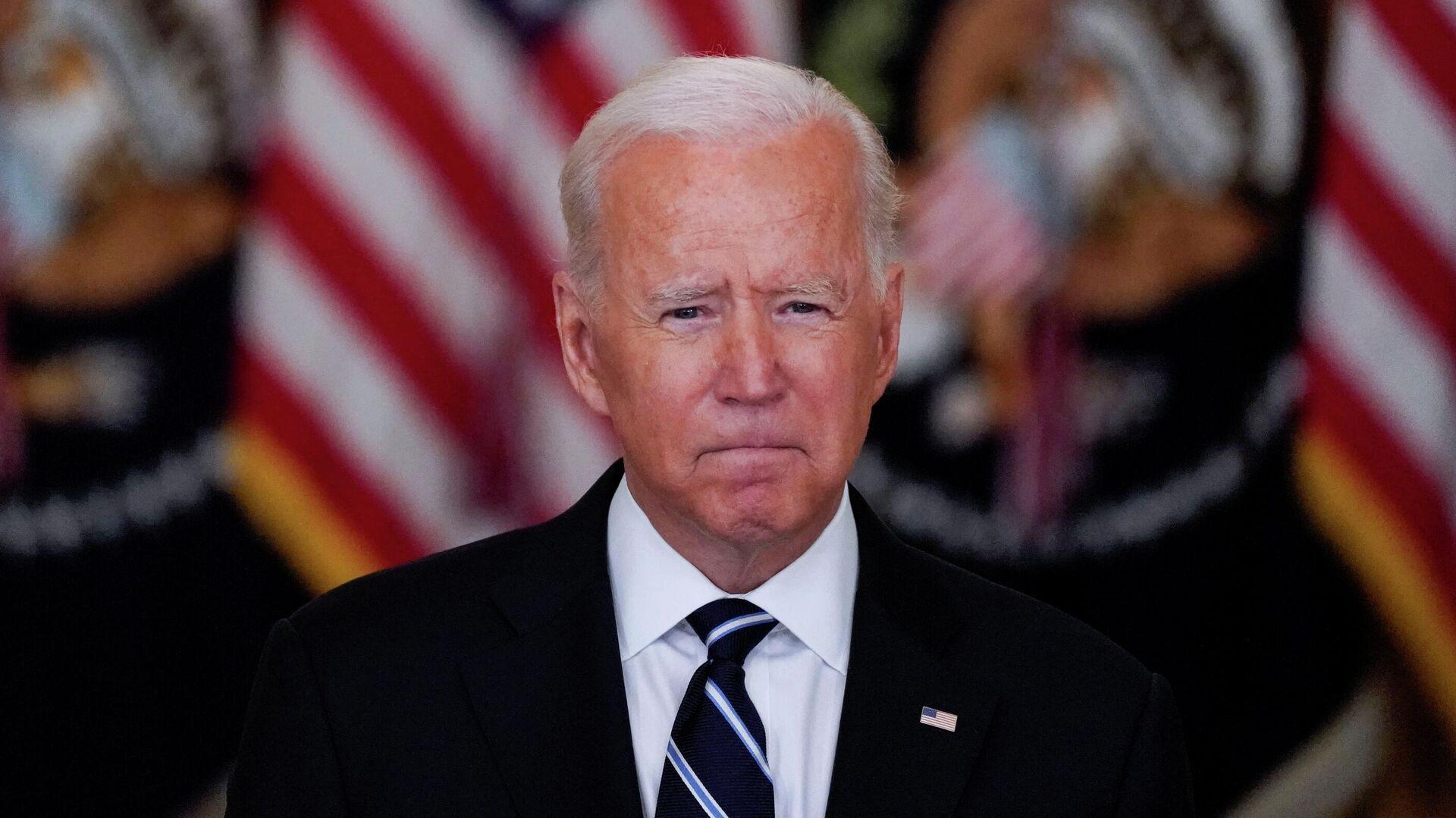 Joe Biden, presidente de EEUU   - Sputnik Mundo, 1920, 18.08.2021