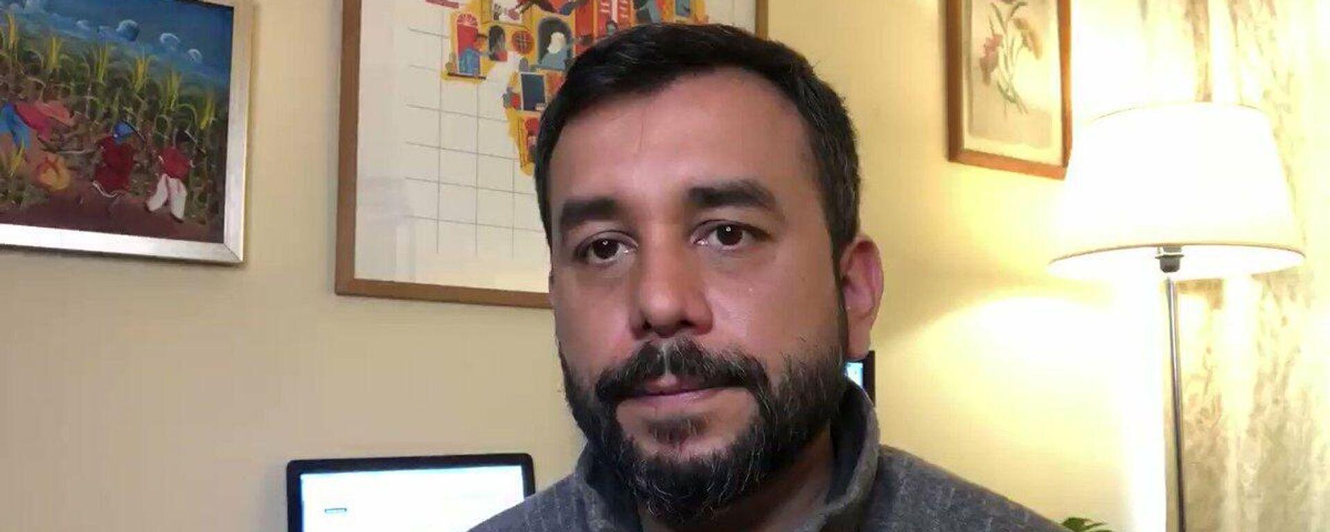 Óscar Rementería, vocero del Movimiento por la Integración y Liberación Homosexual (Movilh) - Sputnik Mundo, 1920, 17.08.2021