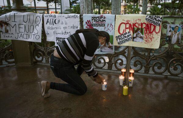 Según informan los medios locales, Romero comenzó a recibir amenazas tras denunciar el abuso de poder policial en el municipio de Texhuacán, en el sur de Veracruz, y los conflictos que involucran a familiares de funcionarios municipales. - Sputnik Mundo