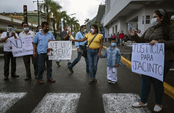 Más de 190 periodistas han sido asesinados en México desde el año 2000 por actividades profesionales, según un informe de la organización Artículo 19. - Sputnik Mundo