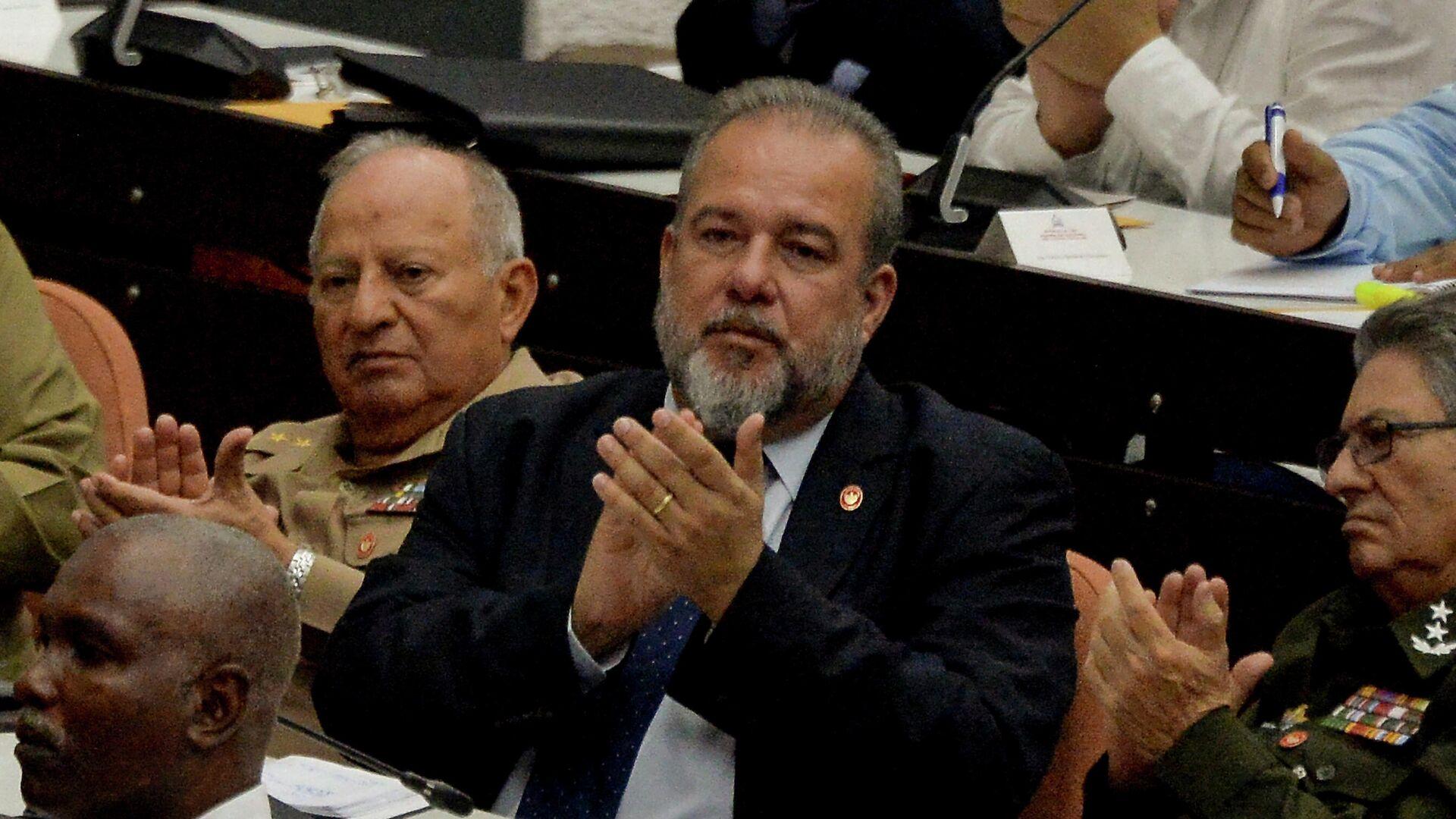 Manuel Marrero Cruz, el primer ministro de Cuba - Sputnik Mundo, 1920, 20.08.2021