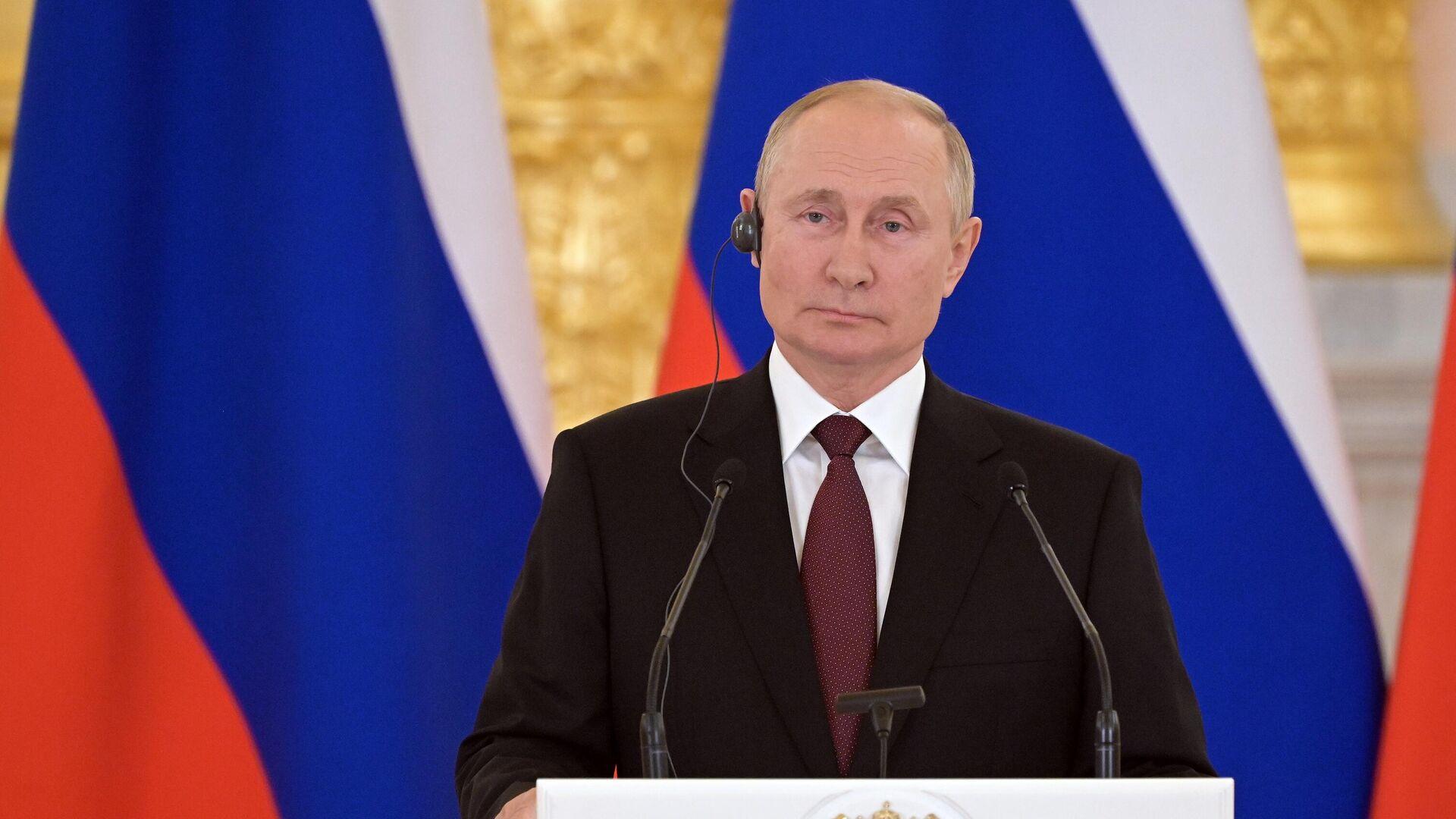 Vladímir Putin, presidente de Rusia - Sputnik Mundo, 1920, 20.08.2021