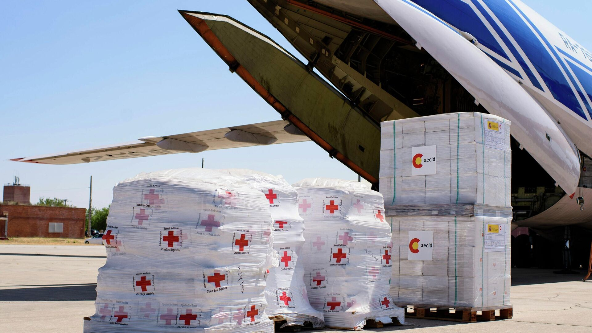 Ayuda humanitaria de España a Haití - Sputnik Mundo, 1920, 20.08.2021