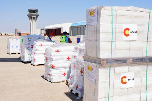 Ayuda humanitaria de España a Haití - Sputnik Mundo