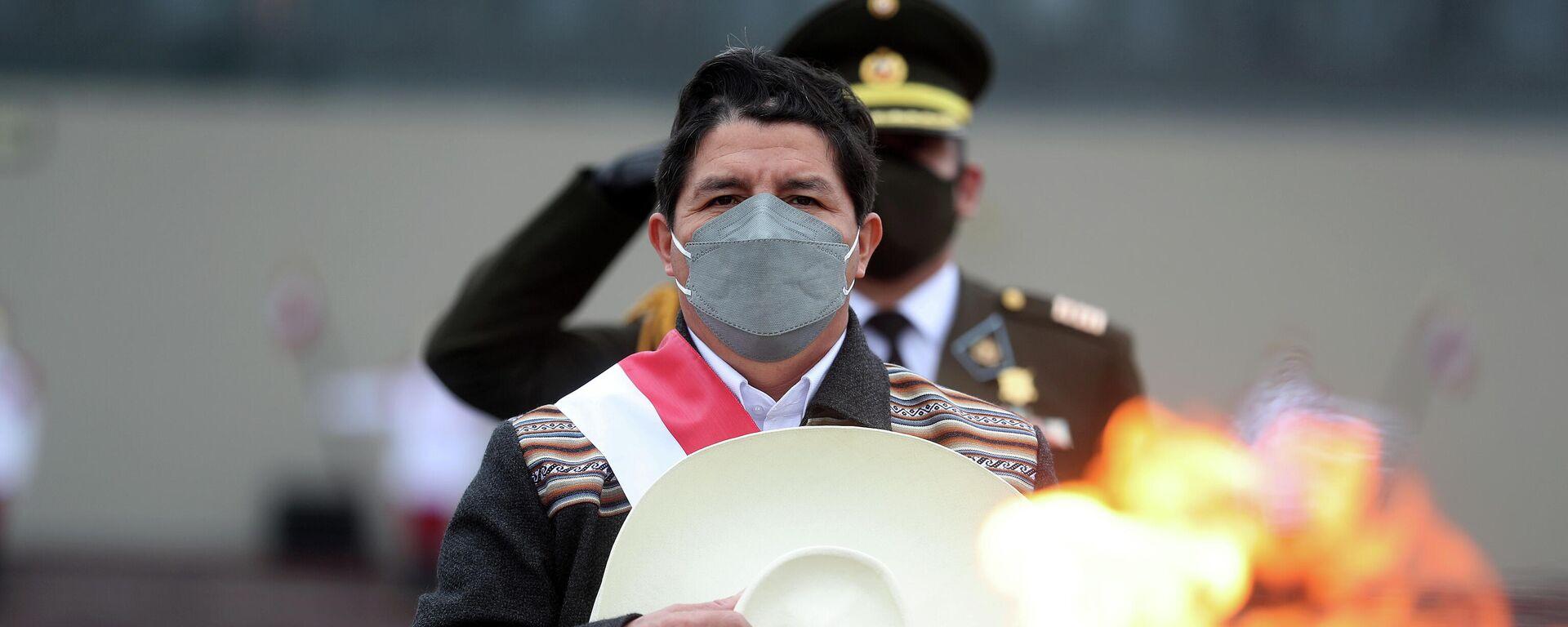 Pedro Castillo, presidente de Perú - Sputnik Mundo, 1920, 20.08.2021