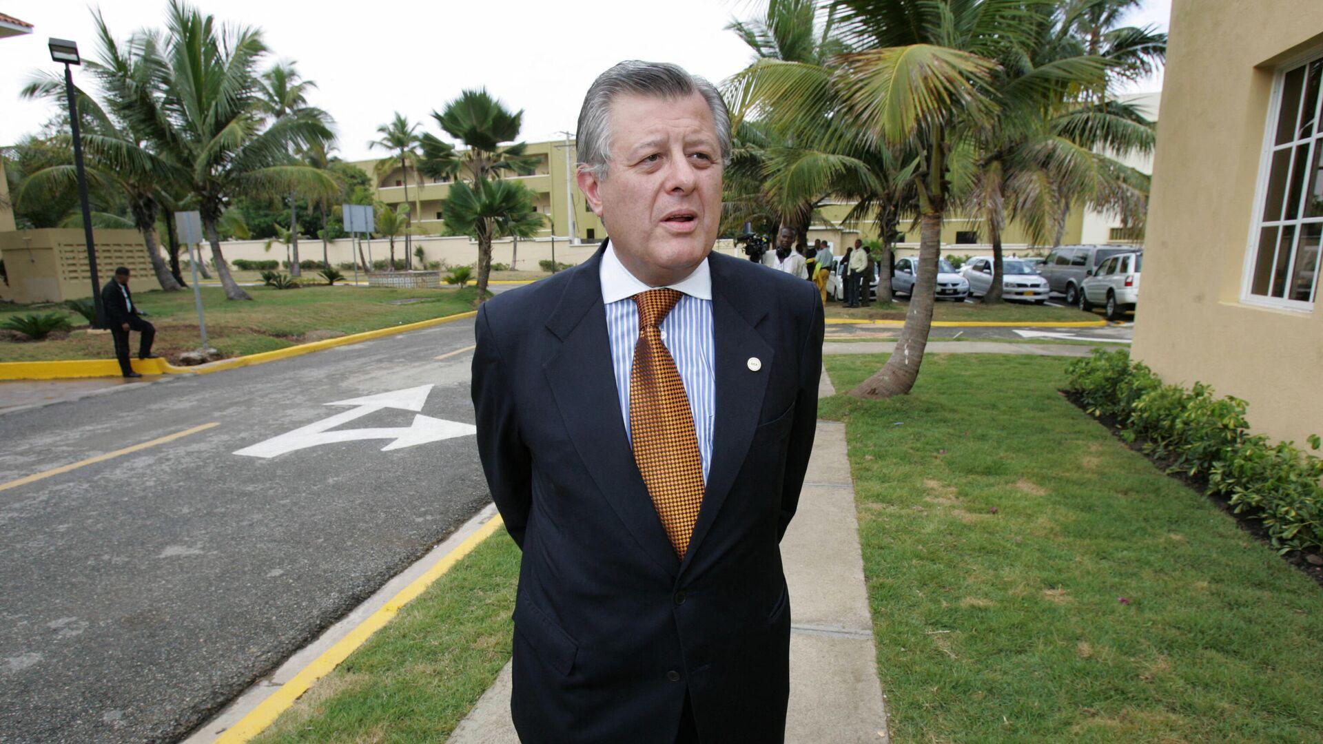 Óscar Maúrtua, ministro de Relaciones Exteriores de Perú - Sputnik Mundo, 1920, 06.09.2021