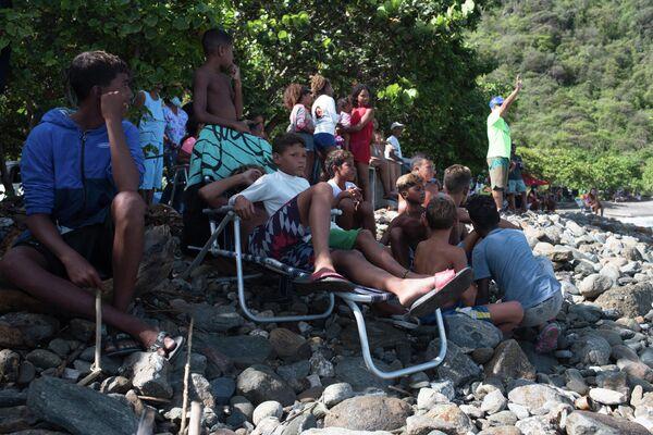 Niños del club de surf de Anare, Venezuela - Sputnik Mundo