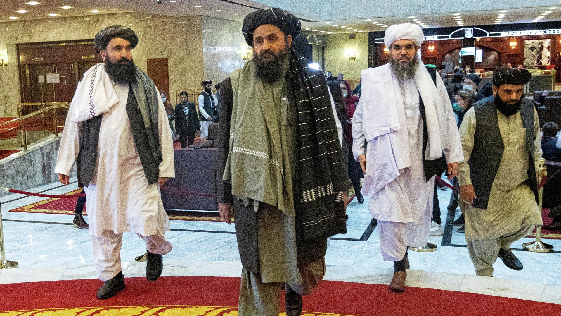 Abdul Ghani Baradar, jefe de la oficina política del movimiento talibán - Sputnik Mundo, 1920, 31.08.2021