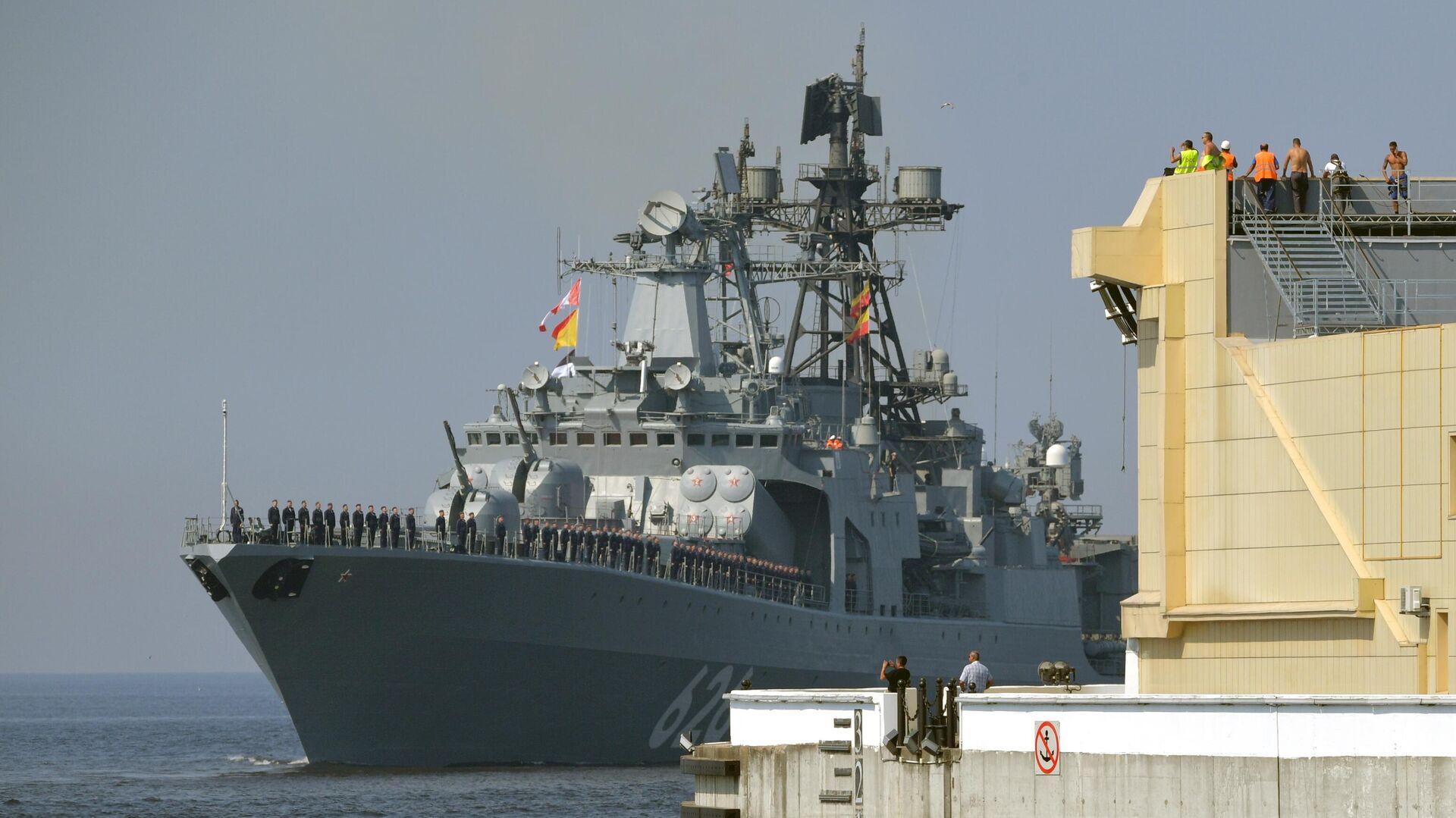 El buque antisubmarino ruso Vicealmirante Kulakov - Sputnik Mundo, 1920, 21.08.2021