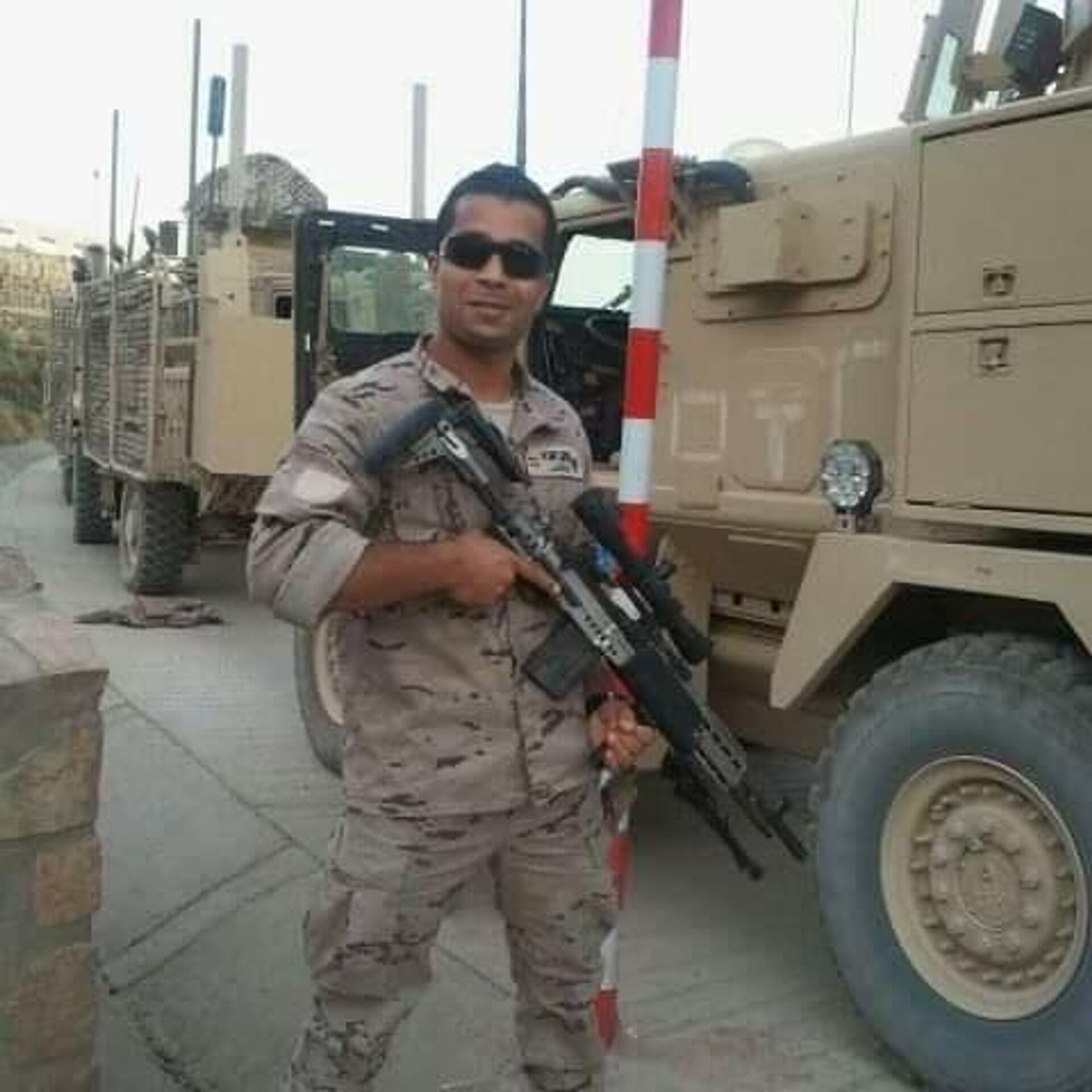 Karwan en su servicio al ejército español como intérprete en Afganistán (2007–2013) - Sputnik Mundo, 1920, 23.08.2021