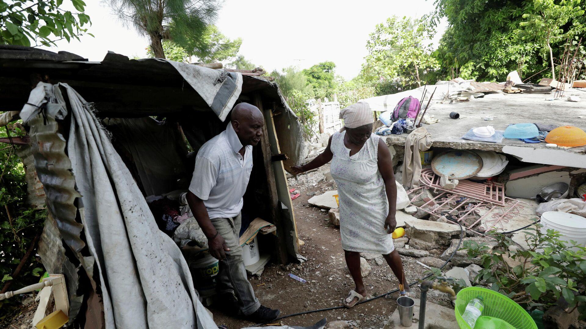 Consecuencias del terremoto en Haití  - Sputnik Mundo, 1920, 23.08.2021