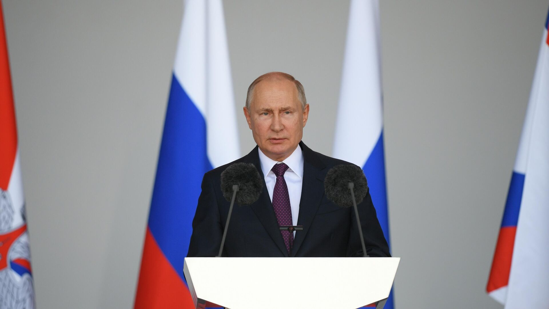 Vladímir Putin, presidente de Rusia - Sputnik Mundo, 1920, 23.08.2021