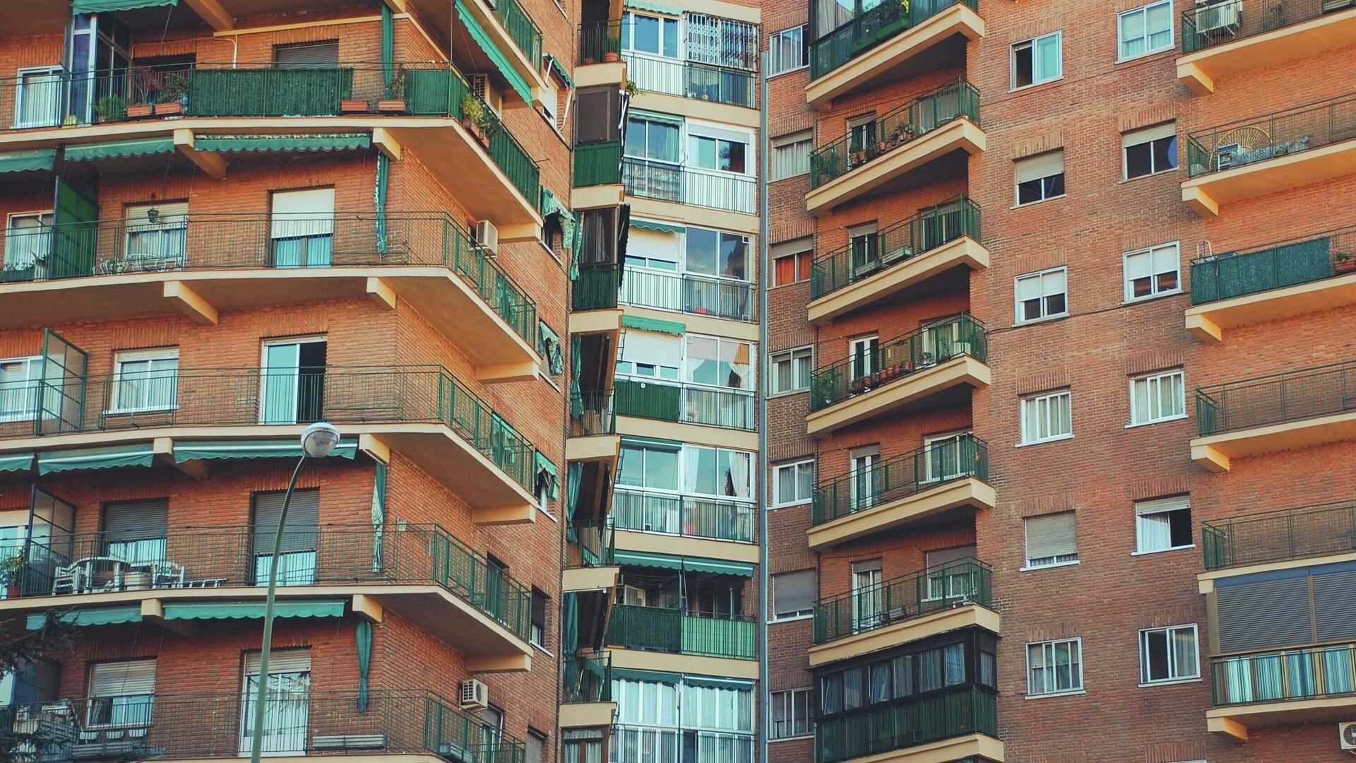 Un edificio en Madrid - Sputnik Mundo, 1920, 24.08.2021