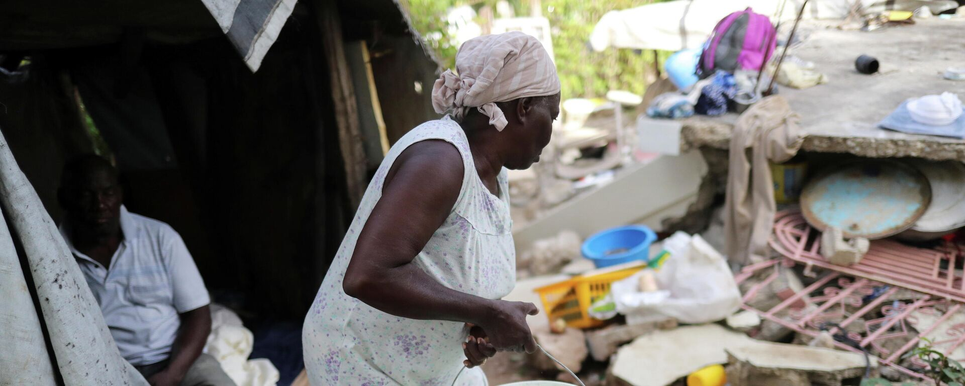 Consecuencias del terremoto en Haití - Sputnik Mundo, 1920, 24.08.2021