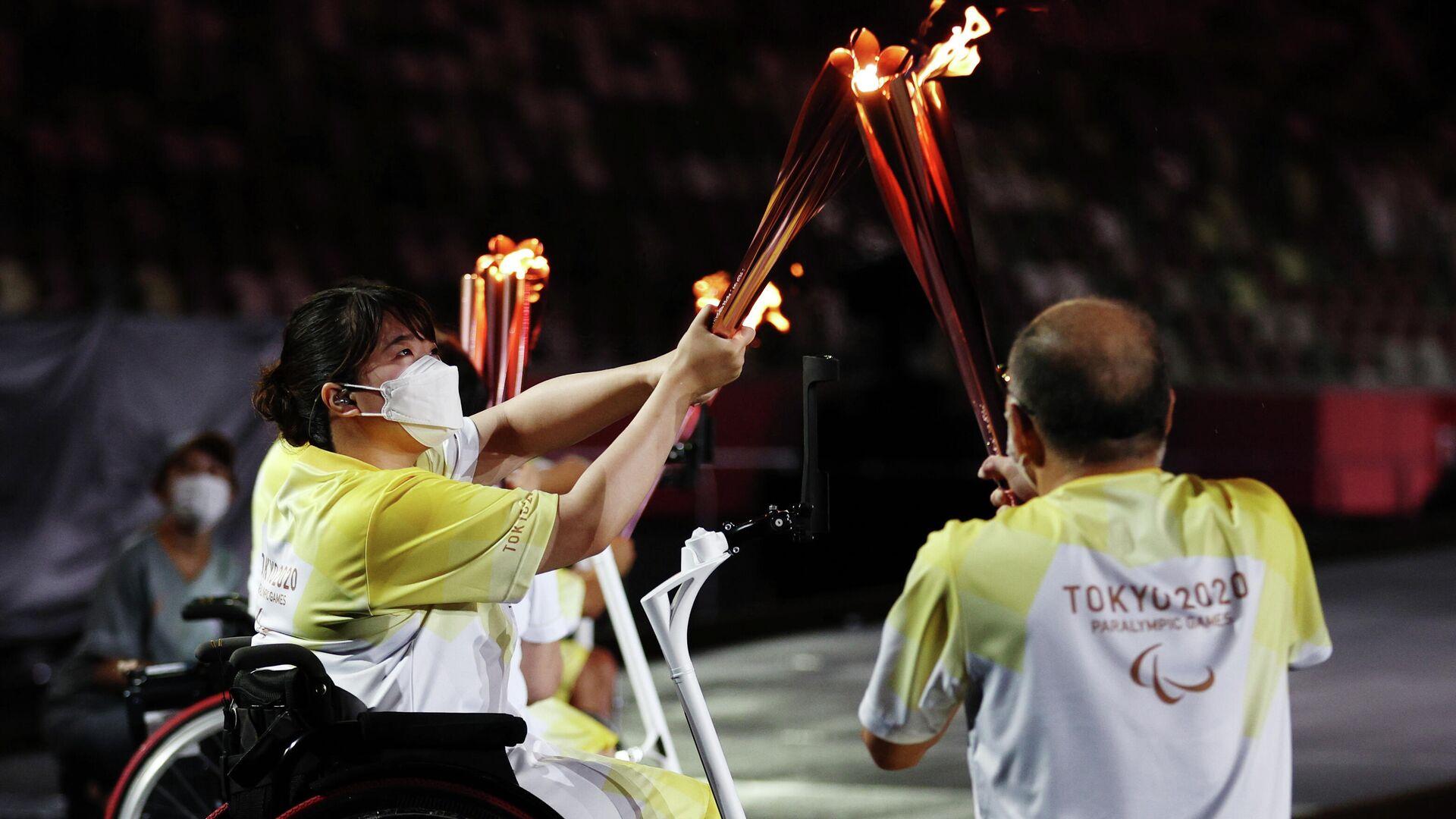 Ceremonia de apertura de los Juegos Paralímpicos de Tokio - Sputnik Mundo, 1920, 24.08.2021