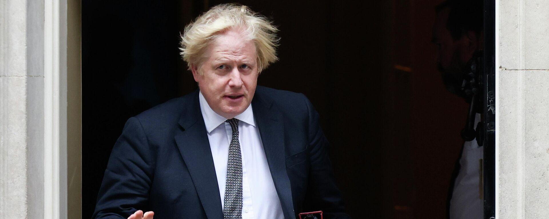 Primer ministro británico, Boris Johnson - Sputnik Mundo, 1920, 24.08.2021