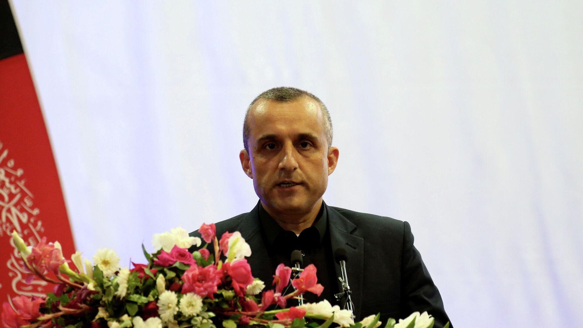 El vicepresidente afgano, Amrullah Saleh - Sputnik Mundo, 1920, 25.08.2021
