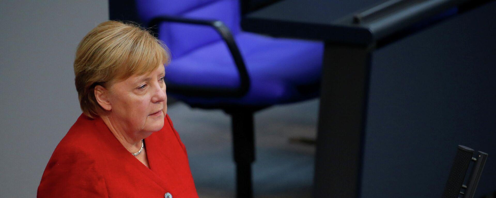 Angela Merkel, canciller alemana,  - Sputnik Mundo, 1920, 25.08.2021