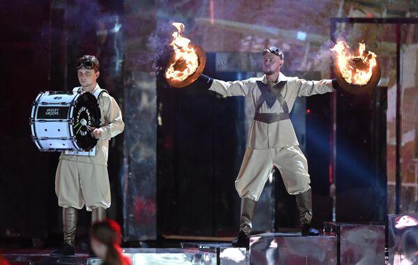 Artistas en el concierto de gala, en el marco de la celebración del 800 aniversario de Nizhni Nóvgorod. - Sputnik Mundo
