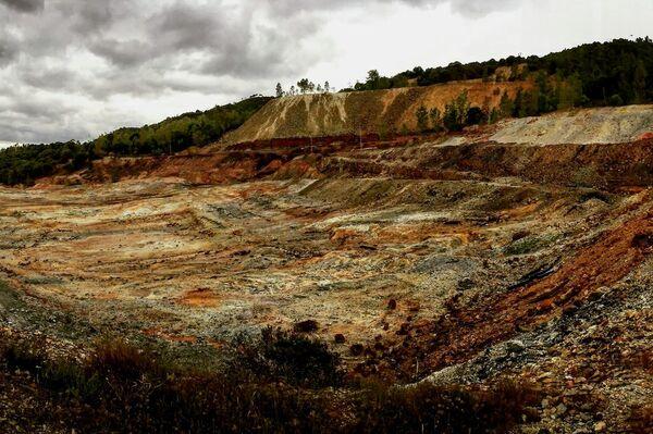 Paisaje marciano en minas de Riotinto (Huelva) - Sputnik Mundo