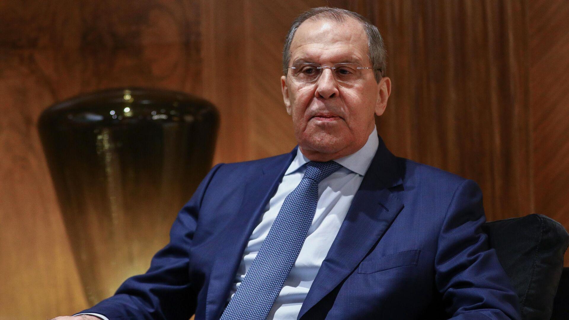 Serguéi Lavrov, ministro de Asuntos Exteriores de Rusia - Sputnik Mundo, 1920, 26.08.2021