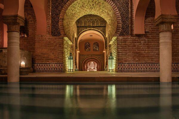 La arquitectura del hammam Al Andalus de Granada - Sputnik Mundo