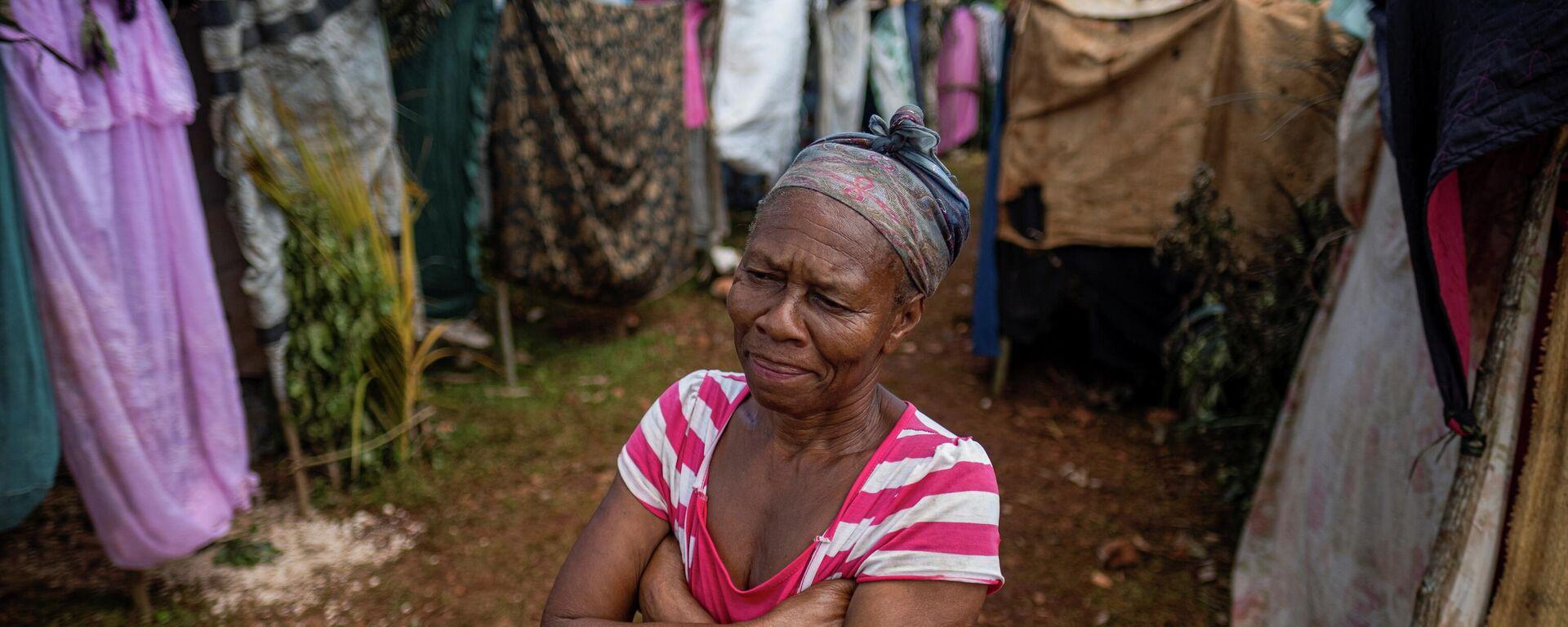 Haitianos viven en las carpas tras el terremoto - Sputnik Mundo, 1920, 26.08.2021