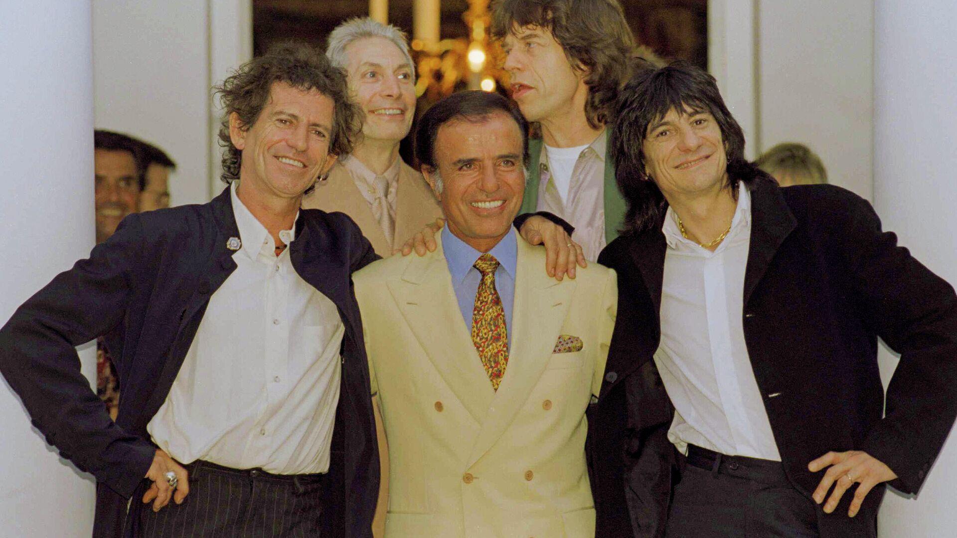 Rolling Stones y Carlos Menem - Sputnik Mundo, 1920, 26.08.2021