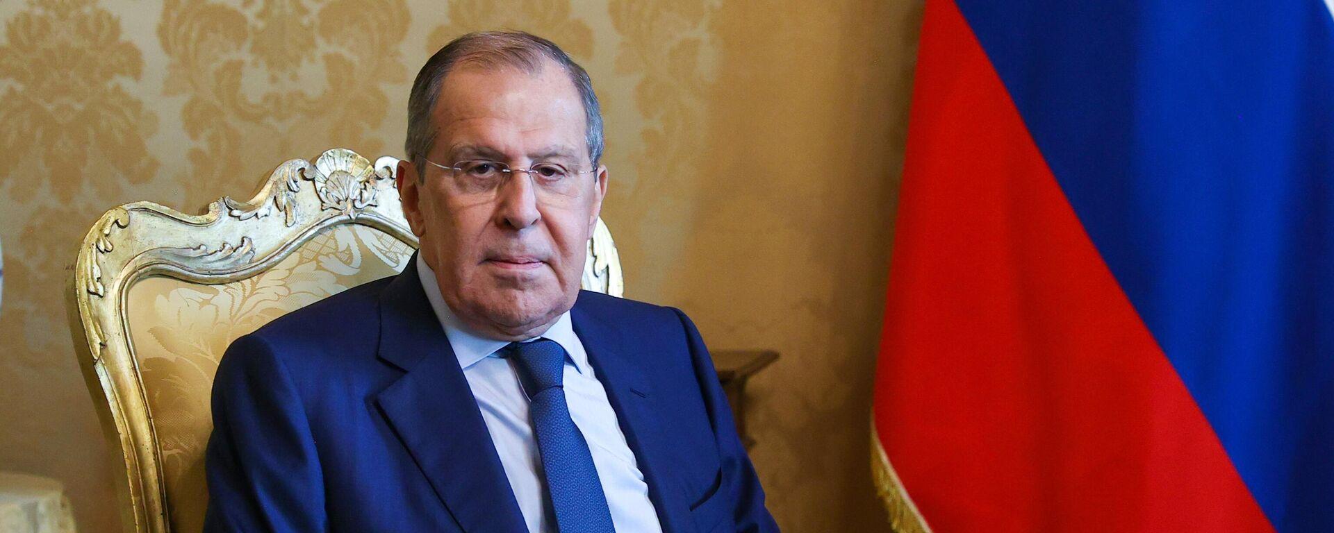 Serguéi Lavrov, ministro de Asuntos Exteriores de Rusia - Sputnik Mundo, 1920, 27.08.2021