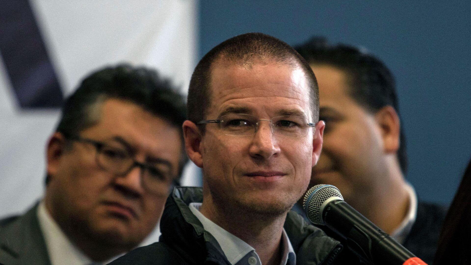 Ricardo Anaya, el candidato del Partido Acción Nacional para las elecciones presidenciales de México de 2018 - Sputnik Mundo, 1920, 27.08.2021