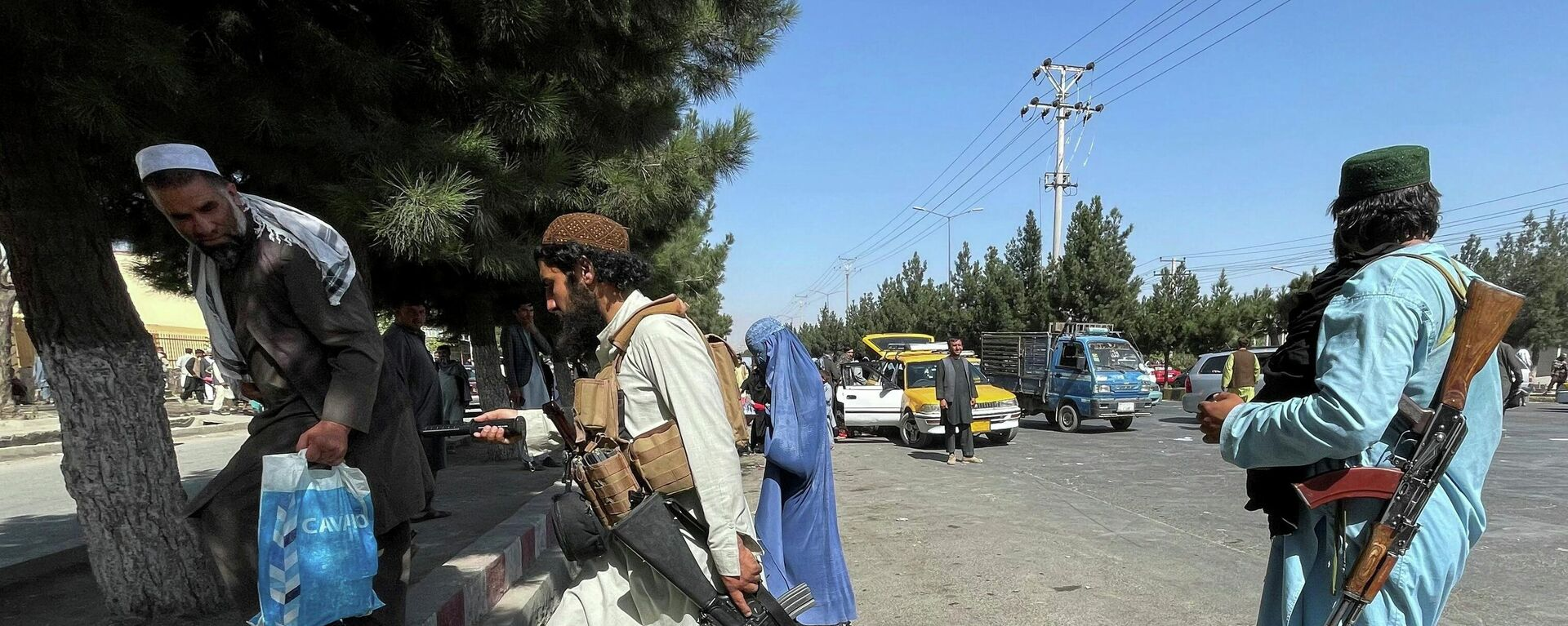 Talibanes en Afganistán - Sputnik Mundo, 1920, 27.08.2021
