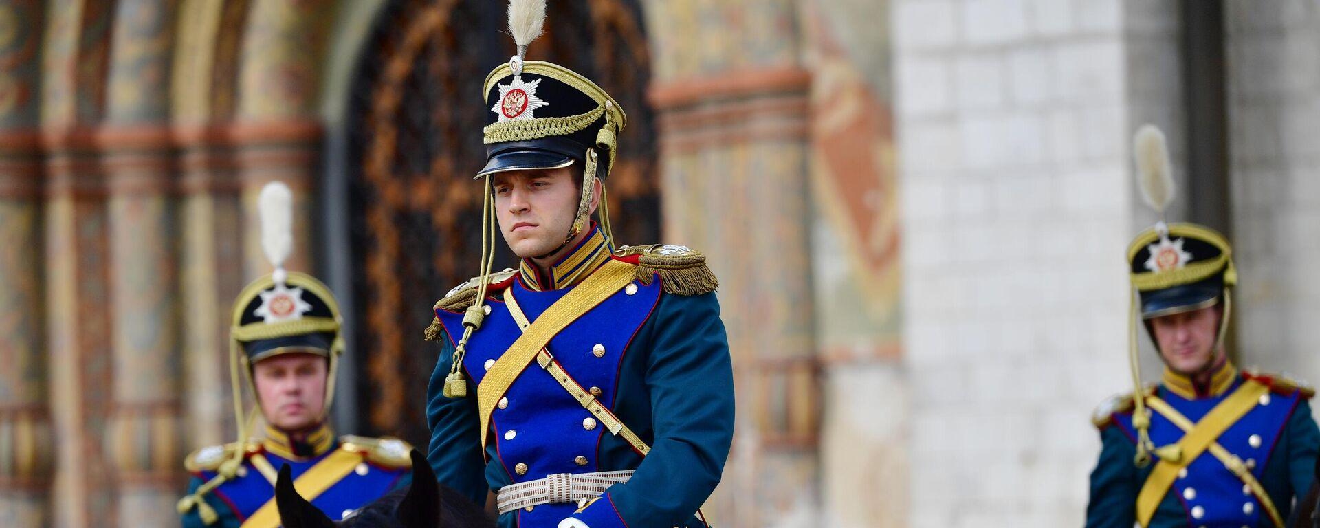 La Escolta de Caballería de Honor del Regimiento Presidencial de Rusia - Sputnik Mundo, 1920, 27.08.2021