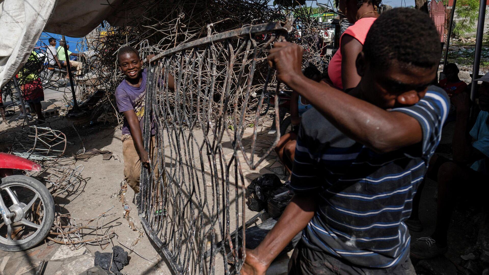 Consecuencias del terremoto en Haití - Sputnik Mundo, 1920, 28.08.2021