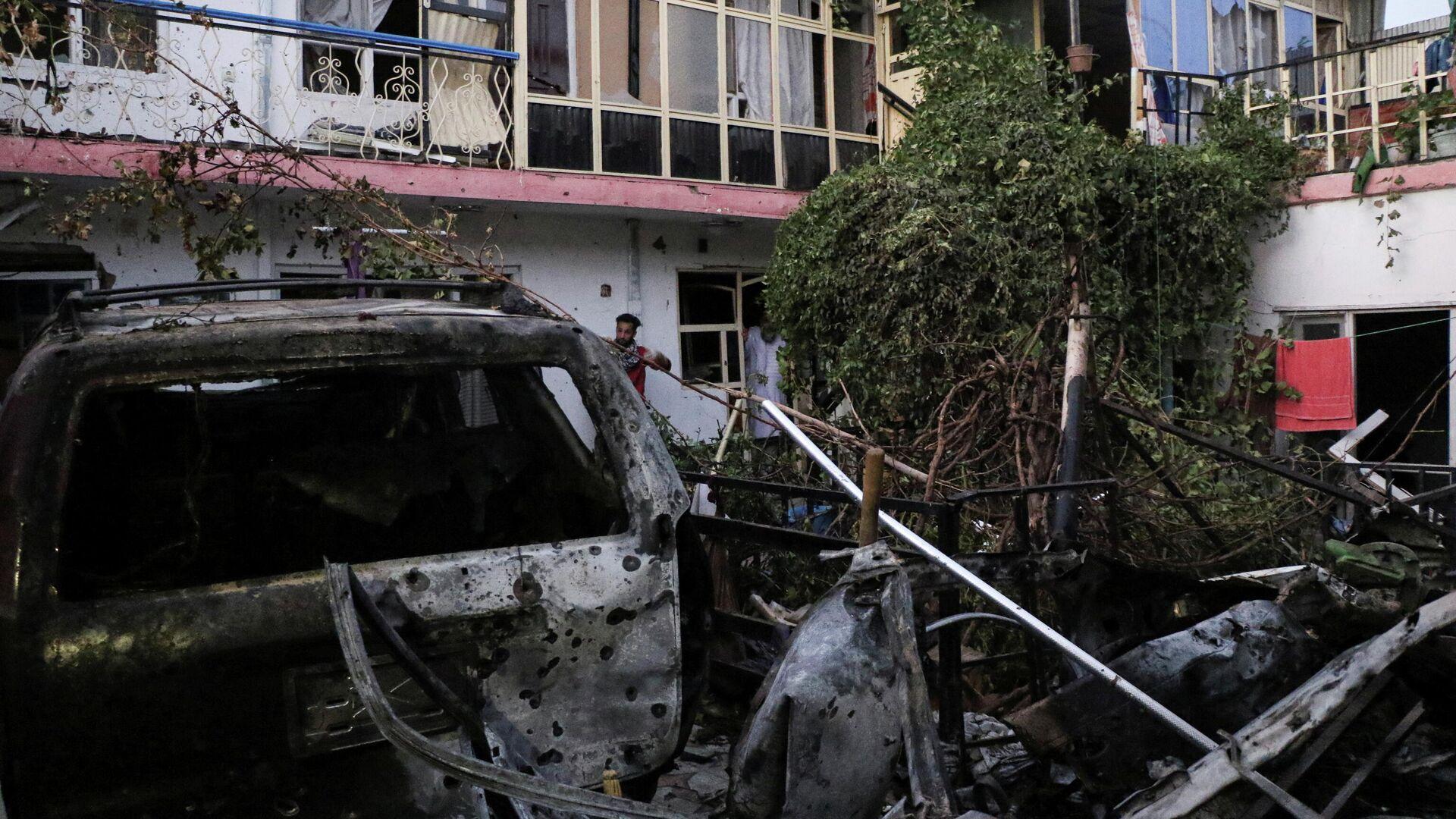 Consecuencias del ataque de EEUU contra posiciones del ISIS en Kabul (Afganistán), el 29 de agosto del 2021 - Sputnik Mundo, 1920, 29.08.2021